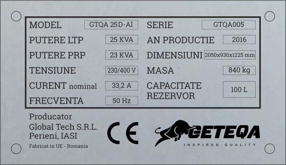 gravura aluminiu (geteq)