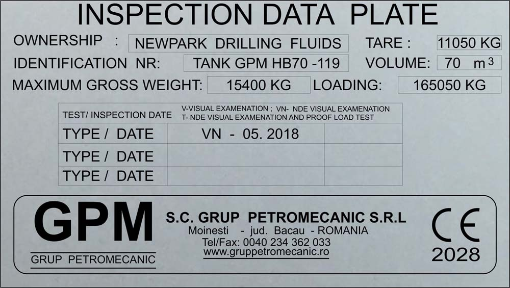 gravura aluminiu (gpm2)
