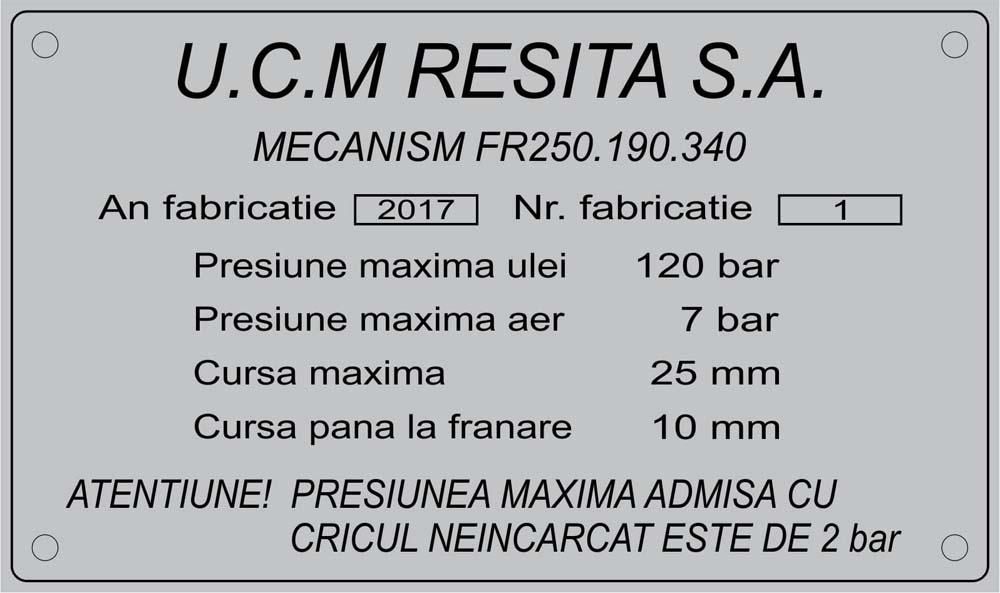 gravura aluminiu (ucm resita)